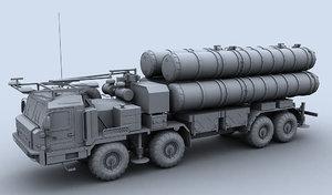 3d model 5p90s baz-6909 s-400
