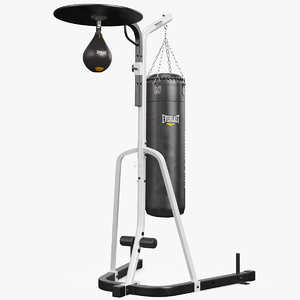 max seth punching bag stand