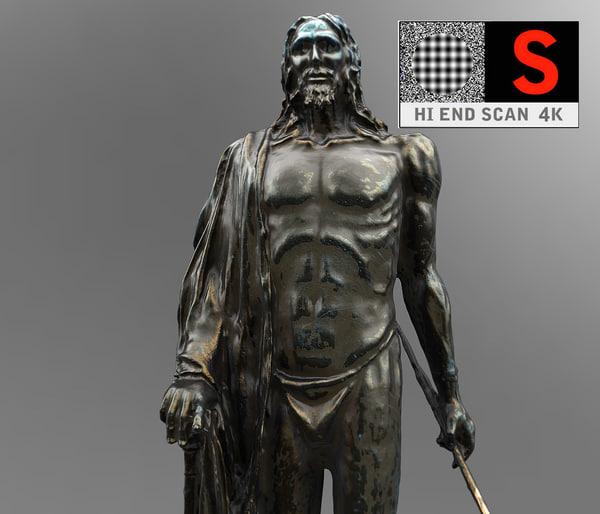 max sculpture monument figure guanchen