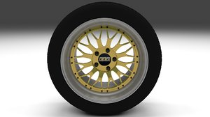 bbs wheel obj