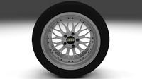 3ds max bbs wheel