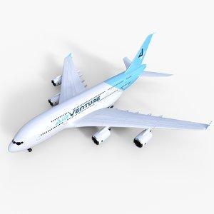 airbass air venture b380 3d c4d