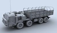 3d baz 6306 transporter model
