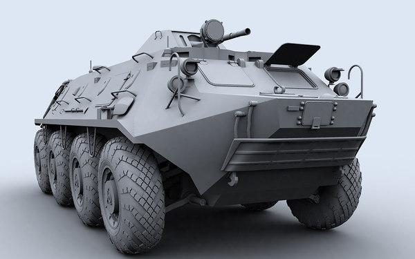 btr-60 pb 3d model
