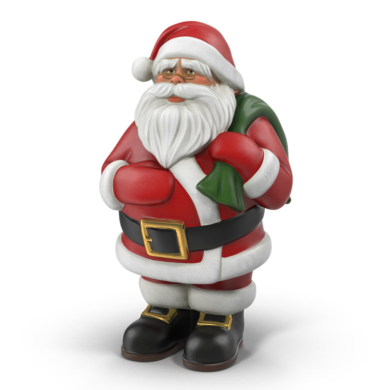 Santa claus statue max
