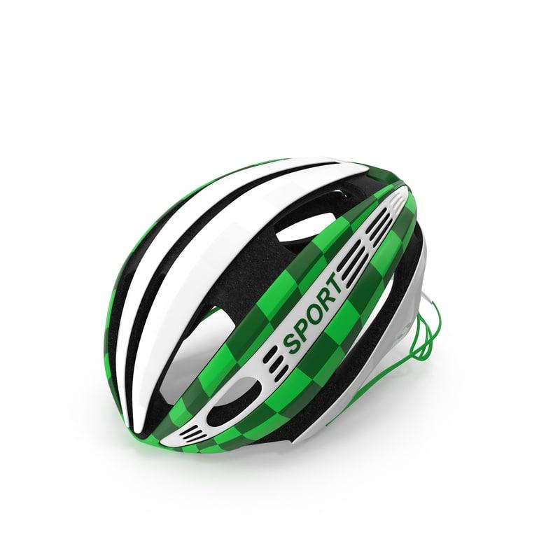 3dsmax bicycle helmet
