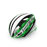 Green Bicycle Helmet