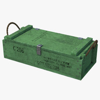 3d ammo crate 2 green