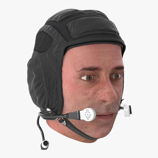 pilot head 3d model