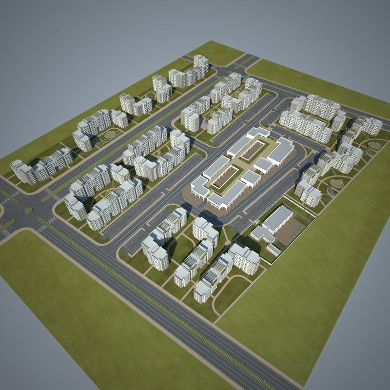 3d residential community