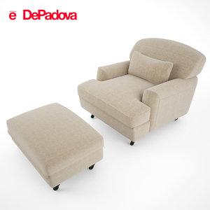 padova - raffles armchair max