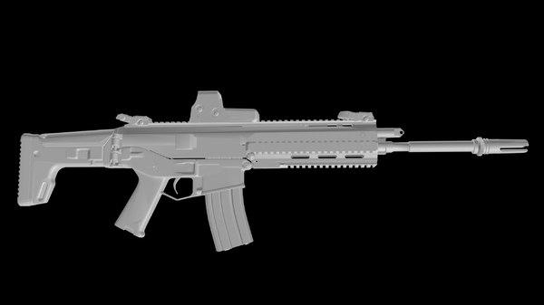 remington acr 3d max