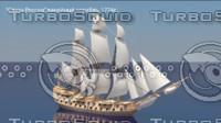 Russian Line Ship 1774