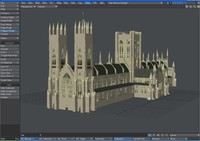 york minster 3d model