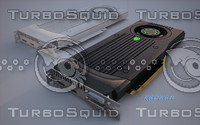 3d model nvidia graphic card