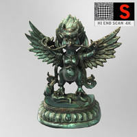 garuda sculpture obj