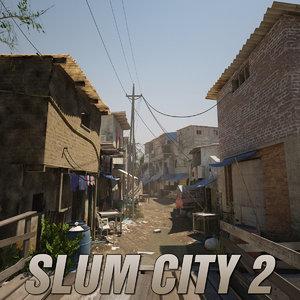 slum city 2 3d max
