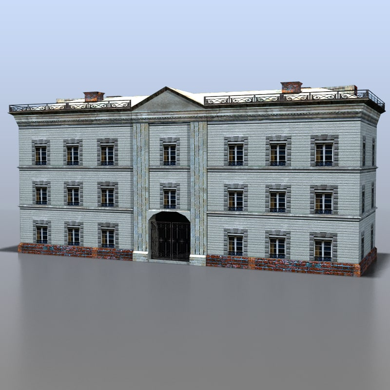 house russia 3d max