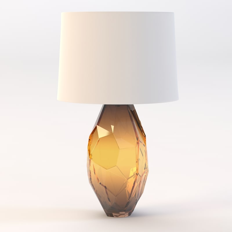 3ds realistic lighting lamp