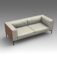 leather sofa fbx