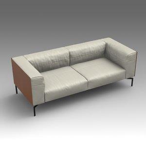 leather sofa fbx