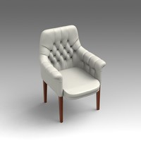 fbx leather armchair