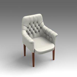 fbx leather armchair