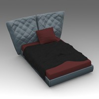 x leather bed