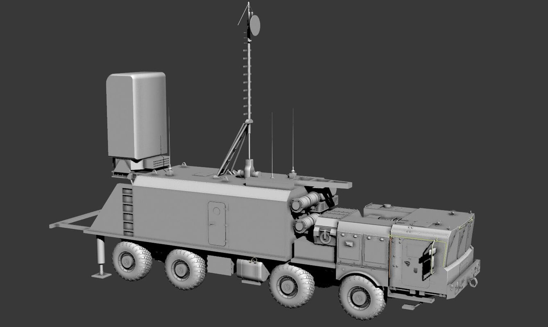 monolit b 3d model