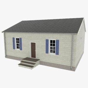 residential home interior 3d model