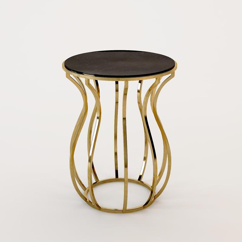 dwg jules baxter table