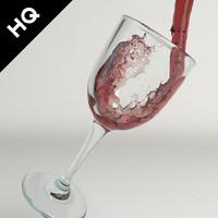 wine pouring max