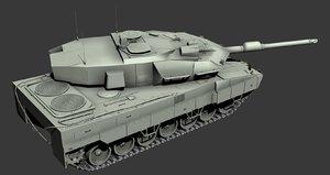 obj strv122 swedish main battle tank