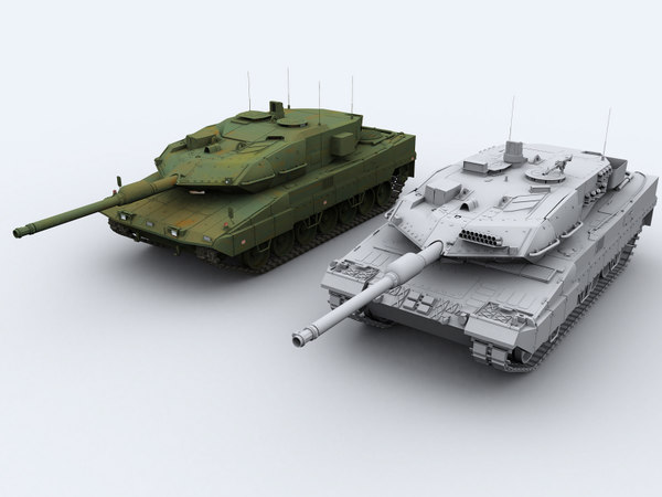 3ds max leopard 2a6
