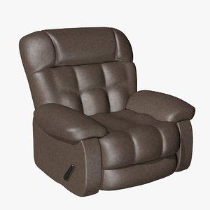 3ds armchair chair