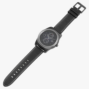 lg watch urbane silver 3ds