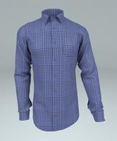 shirt s 3d model