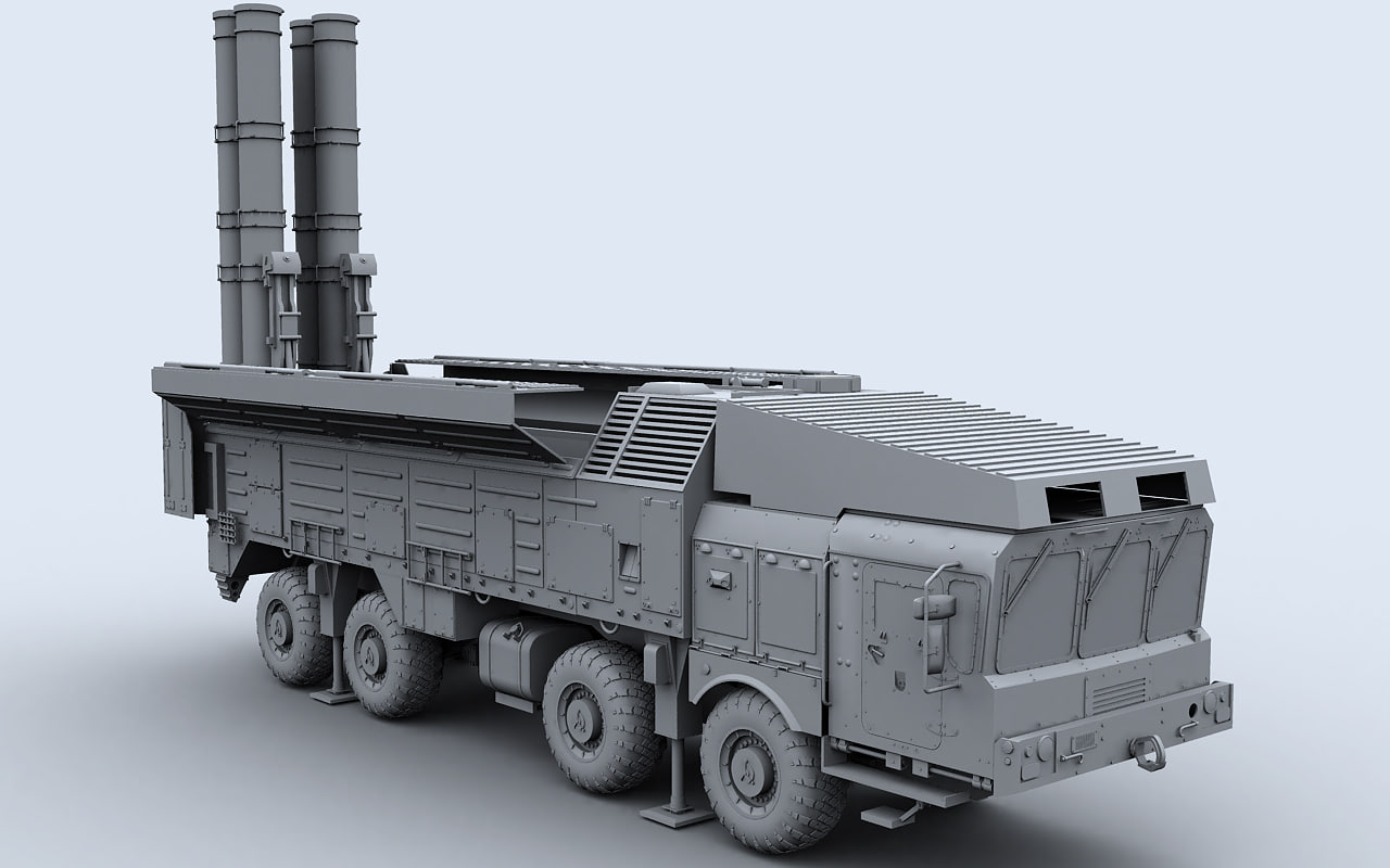 ss-26 stone 3d max