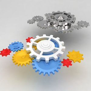 max mechanical machine gears