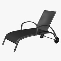 3dsmax chaise lounge