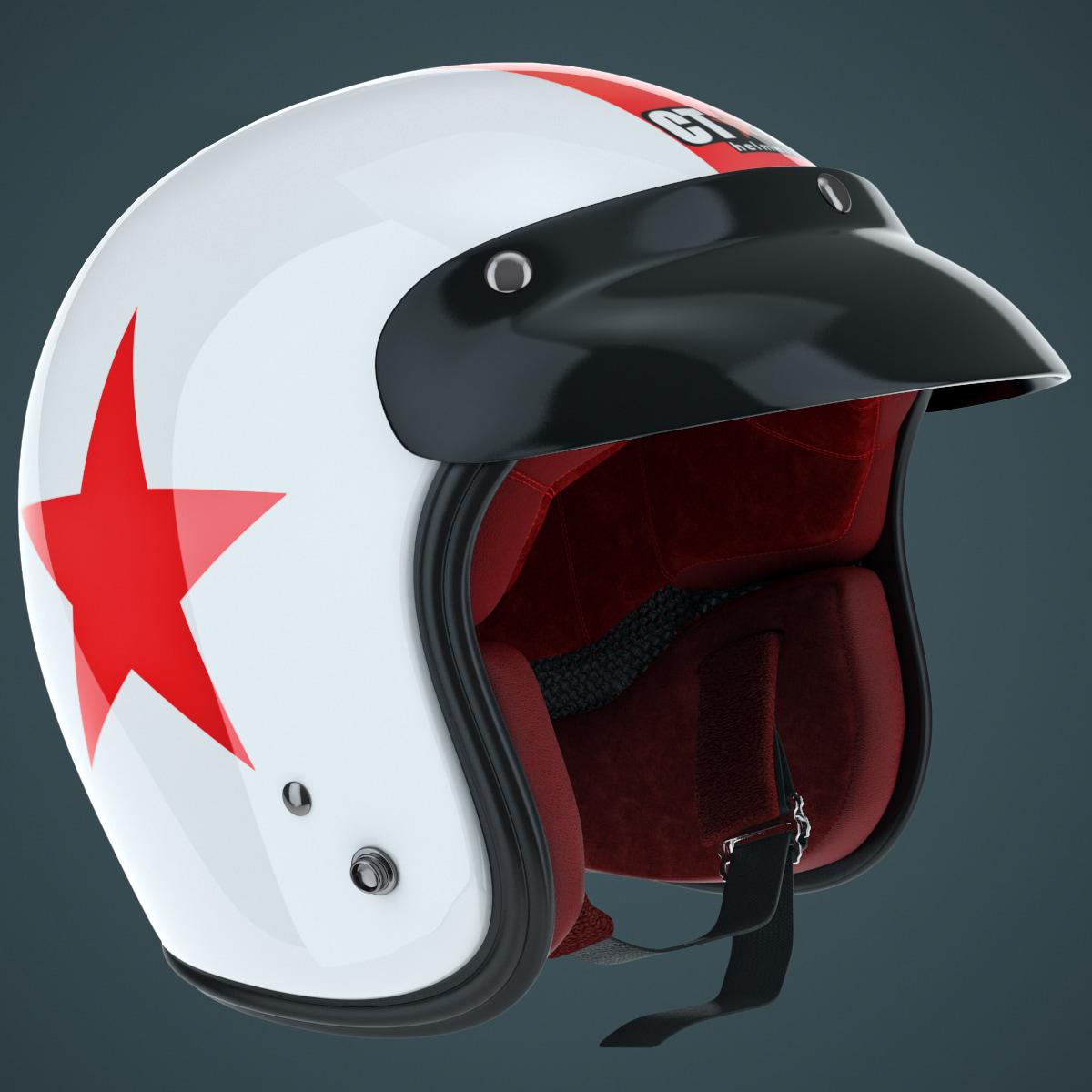 helmet visor 3d max