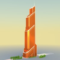3ds mercury city tower modern architecture