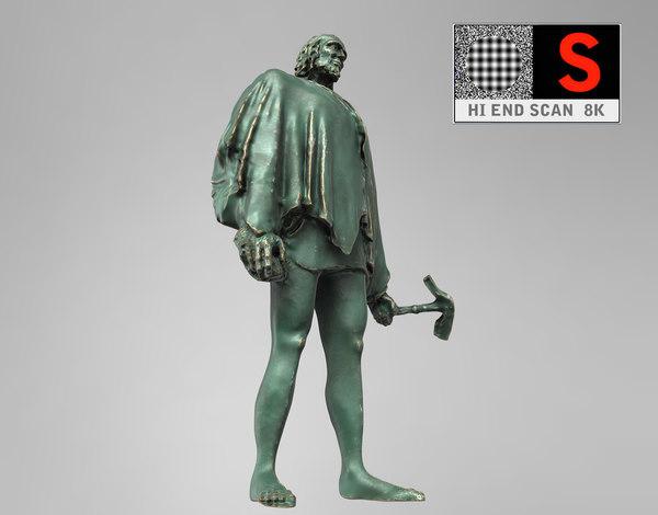 3d sculpture monument figure