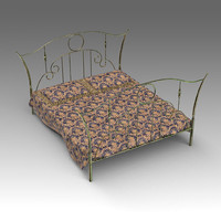 forged bed 3d x