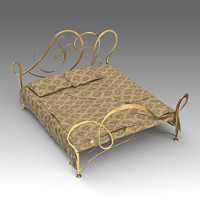 x forged bed