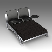leather bed x