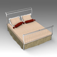 3d forged bed model