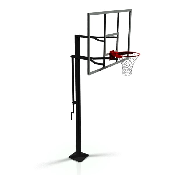 basketball goal 3d model