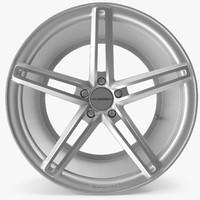 3d rim vossen cv5 model