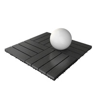 wooden deck tile v4 3d model
